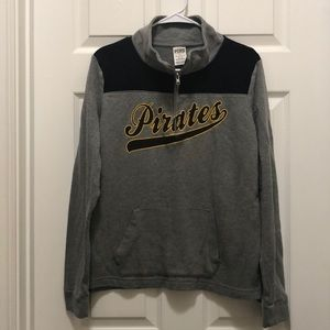 PINK Pittsburgh Pirate sweatshirt. Size M